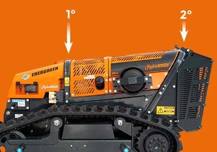 robomidi - double roll bar - energreen america professional machines